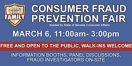 Consumer Fraud Prevention Fair tickets