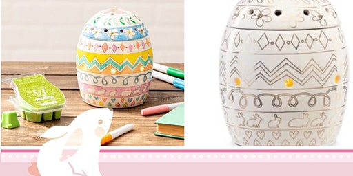 Scentsy Eggs-Press Yourself Warmer Coloring Class