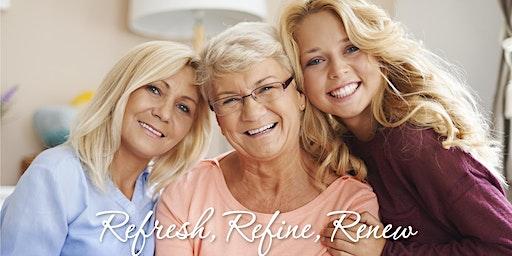 Refresh, Refine, Renew- Scarlet Event