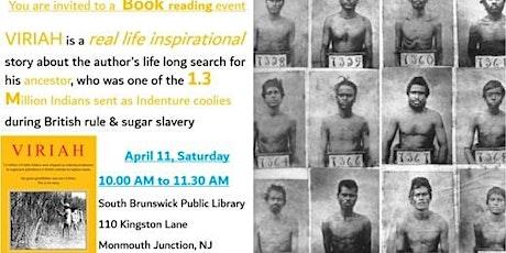 Viriah - Book reading tickets