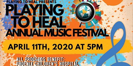Playing To Heal- Music Festival tickets