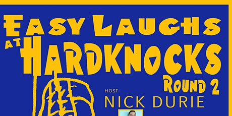 Easy Laughs @ Hardknocks, Round 2 tickets