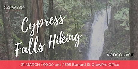 Cypress Falls Hiking tickets