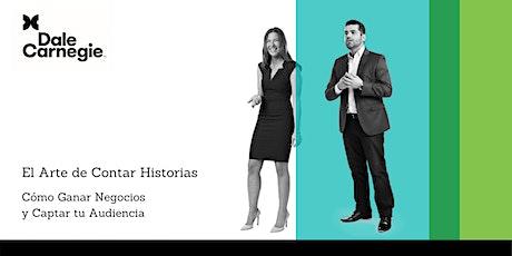 Taller: El Arte de Contar Historias: Cómo Ganar Negocios y Captar a tu Audiencia entradas