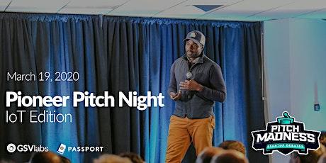 GSVlabs Pioneer Pitch Night - IoT tickets