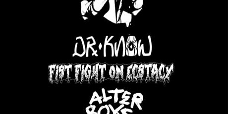 Dr. Know (POSTPONED-New Date TBA) tickets