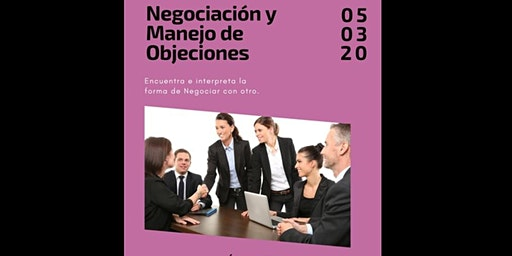 """Taller  """"Negociación y Manejo de Objeciones"""""""