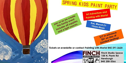 Spring Kids Paint Party
