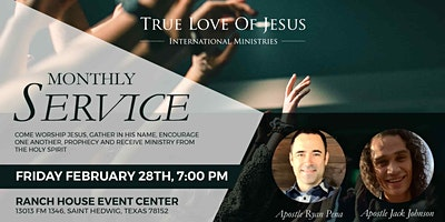 Monthly Service February | True Love of Jesus International Ministries