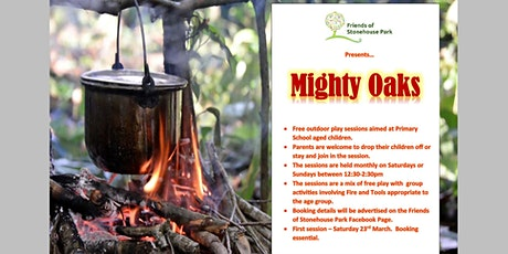 Friends of Stonehouse Park Mighty Oaks Outdoor Play tickets