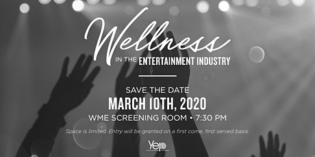 YEP Los Angeles Wellness in the Entertainment Industry Panel tickets