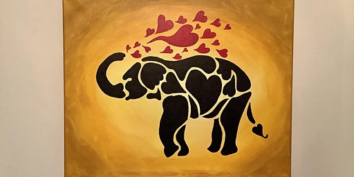 "Sip and Paint Night - ""Elephant Love"" @ Beerocracy"