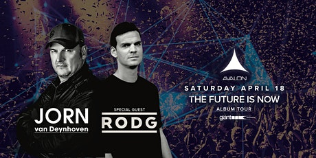 THE FUTURE IS NOW: Jorn Van Deynhoven + Special Guest: Rodg tickets