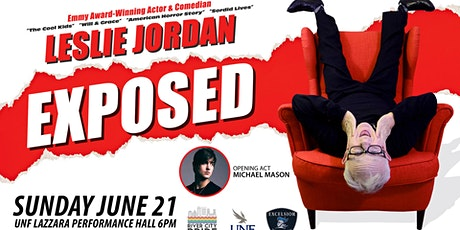 Leslie Jordan EXPOSED--a benefit presented by River City Pride tickets