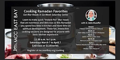 Ramadan Favorites Cooking Class
