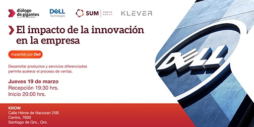 El impacto de la innovación en las empresas impartida por DELL TECHNOLOGIES
