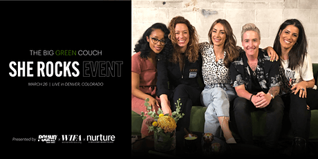 The Big Green Couch - SHE ROCKS Podcast Event tickets