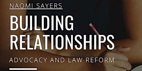 Building Relationships Across The Table: Engaging In Advocacy And Law Reform With The Opposition tickets