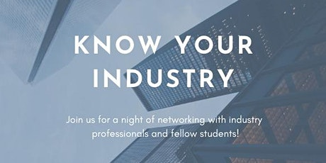 Networking Event: Know Your Industry tickets