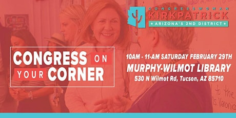 Congress on Your Corner w/ Congresswoman Kirkpatrick tickets