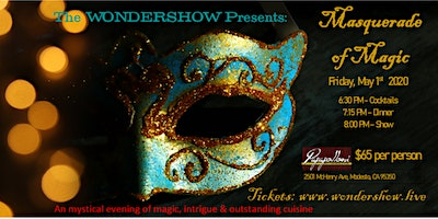 Masquerade of Magic - an evening of magic, intrigue & outstanding cuisine