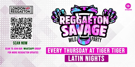 Reggaeton Savage THURSDAYS tickets