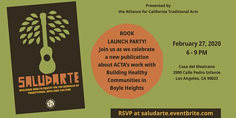 SaludArte Book Launch tickets