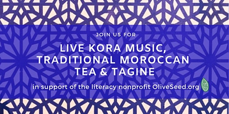 Moroccan Tea & Tagine Fundraiser for OliveSeed tickets