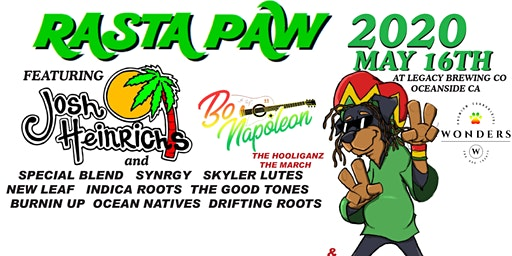 RASTA PAW 2020 REGGAE AND ARTS FESTIVAL