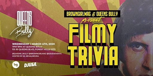 BrownGirlMag & Queens Bully Present 'Filmy Trivia'