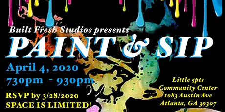 Paint & Sip by Built Fresh Studios tickets
