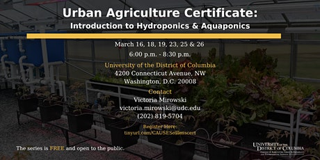 Soil-Less Certificate Series tickets