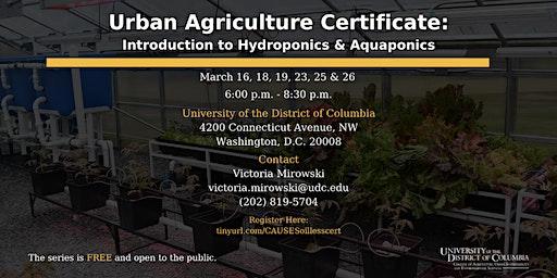 Soil-Less Certificate Series