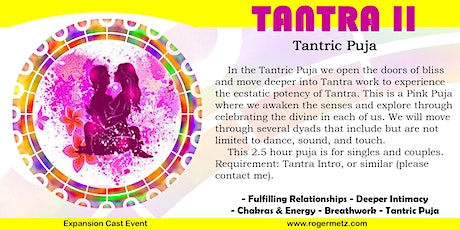 Tantra Puja - Exploring Tantra (Pink Puja) tickets