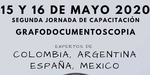 Jornada de Actualización Internacional Grafodocumentoscopia 2020