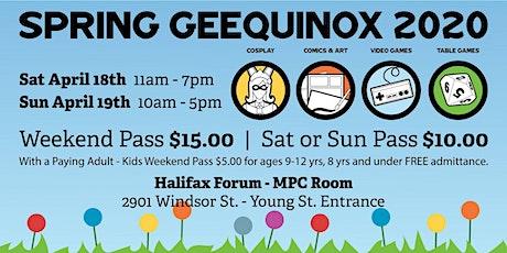 Spring Geequinox ~ Version 7.0 ~ tickets