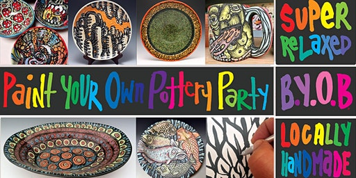 Pottery Painting Party BYOB
