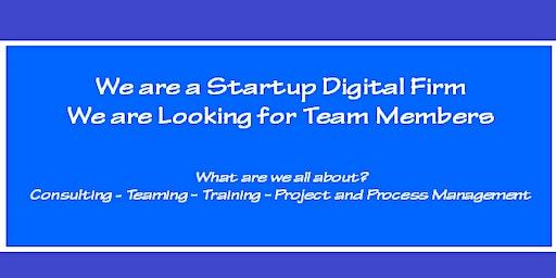 Digital Services Startup Team Member Meet-up