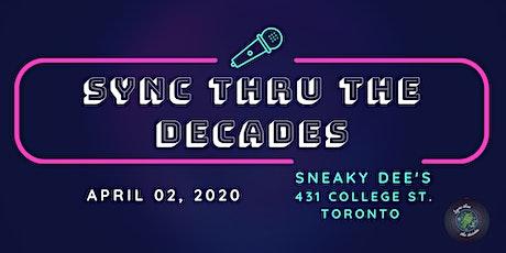 Sync Thru The Decades - Lip Sync Battle tickets