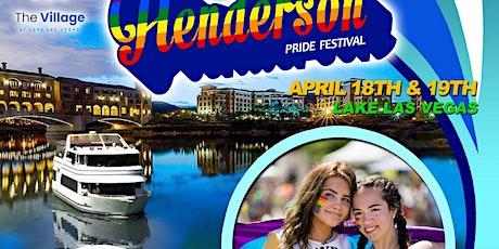 Inaugural Henderson Pride Festival tickets
