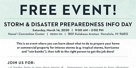 Storm & Disaster Preparedness Info Day tickets