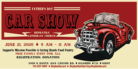 Father's Day Charity Car Show tickets