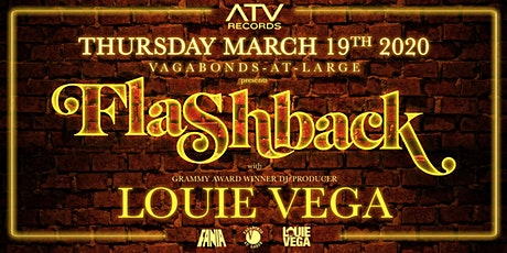 FLASHBACK with LOUIE VEGA tickets
