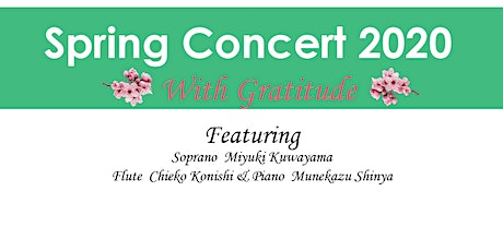 Spring Concert 2020 with Gratitude tickets