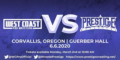 West Coast Pro Wrestling vs Prestige Wrestling tickets