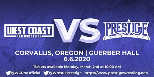 West Coast Pro Wrestling vs Prestige Wrestling