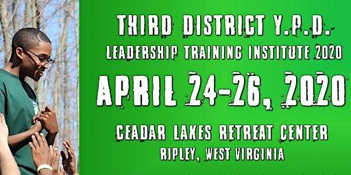 2020 3RD DISTRICT YPD  LEADERSHIP TRAINING  RETREAT