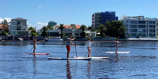 Au Pair Stand Up Paddle Boarding