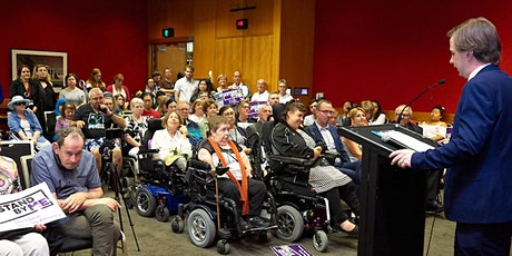 NSW Disability Inclusion Act Consultations for people with disability tickets