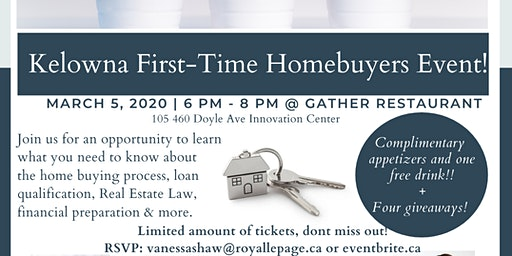 Kelowna First-Time Home Buyer Event